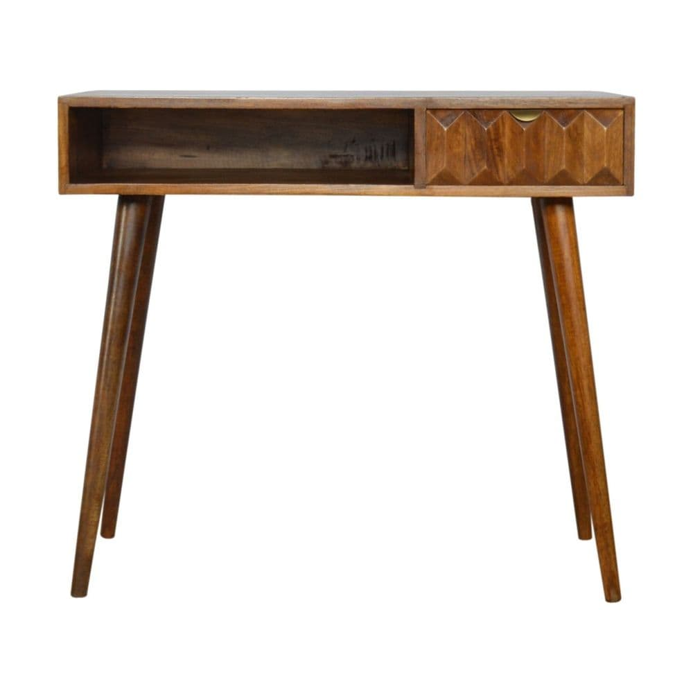 Chestnut Prism Writing Desk